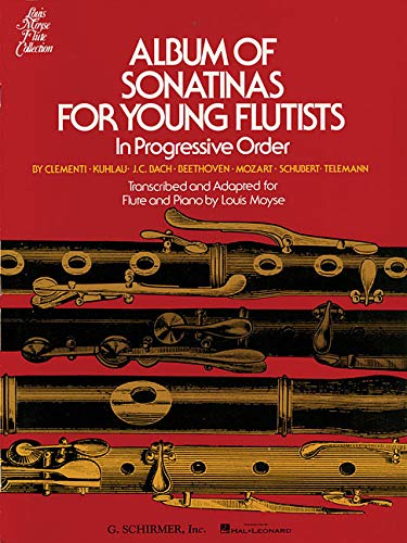 (Album of Sonatinas for Young Flutists)