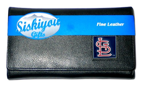 MLB St. Louis Cardinals Women's Leather