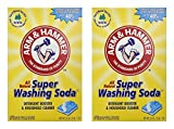 Church & Dwight Co 03020 Arm & Hammer Super Washing Soda 55 Oz, (Pack of 2)