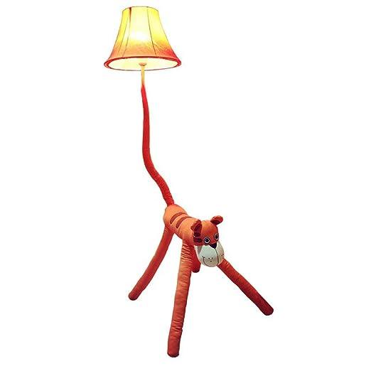 Dibujos animados plástico Tiger lámpara de pie Dormitorio ...