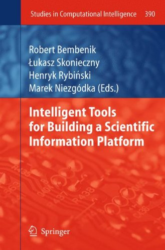 Intelligent Tools for Building a Scientific Information Platform (Studies in Computational Intelligence)