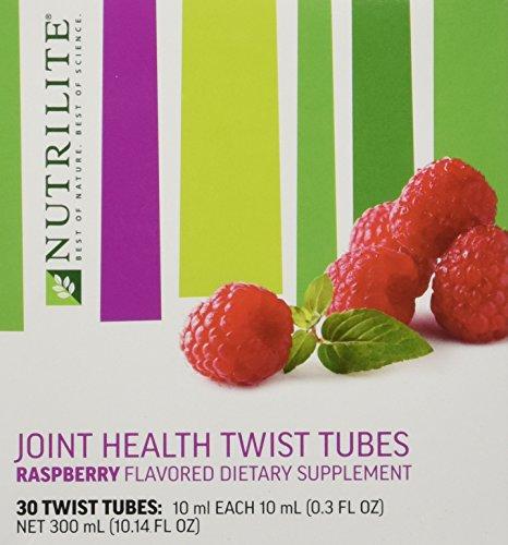 Nutrilite® Twist Tubes - saveur framboise mixte sur la santé a plus glucosamine pour la santé des articulations (30 tubes de torsion)