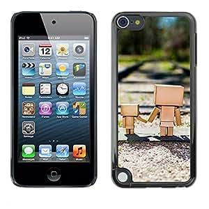 TopCaseStore / la caja del caucho duro de la cubierta de protección de la piel - Cute Box Family - Apple iPod Touch 5