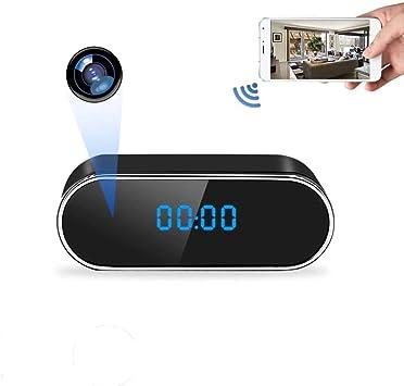 Hidden Spy Camera 1080P WiFi Clock Camera with Motion Detection Spy Camera Mini with Night Vision Mini Camera Hidden Wireless with Playback