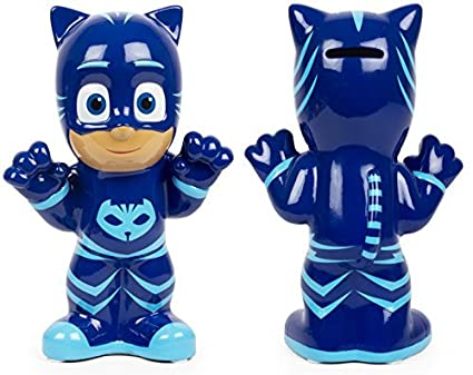 PJ Masks - CATBOY BLUE DECORATIVE COIN BANK - Enjoy this Catboy Blue Decorative Coin Bank