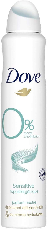 Dove Desodorante Aerosol Sensitive O% 200 ml