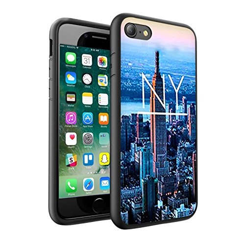 iPhone X Hülle, einzigartige Custom Design Prodective harte zurück dünner dünner Fit PC Bumper Case Kratzfeste Abdeckung für iPhone X - NEW YORK 0010