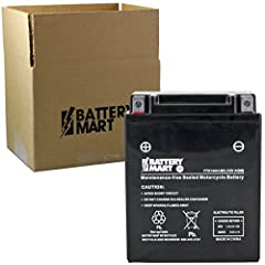 The YTX14AH-BS battery is a reliable and long-lasting battery. It is easy to install and includes a one year warranty. Features: Sealed, Maintenance-Free * Leakproof/Spillproof * Ships fully charged and ready to install * Environmentally frie...