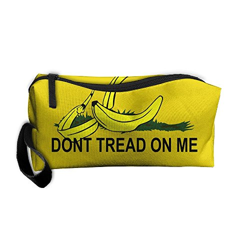 Dont Tread On Me Banana Zipper Up Portable Bag Bag For Unisex