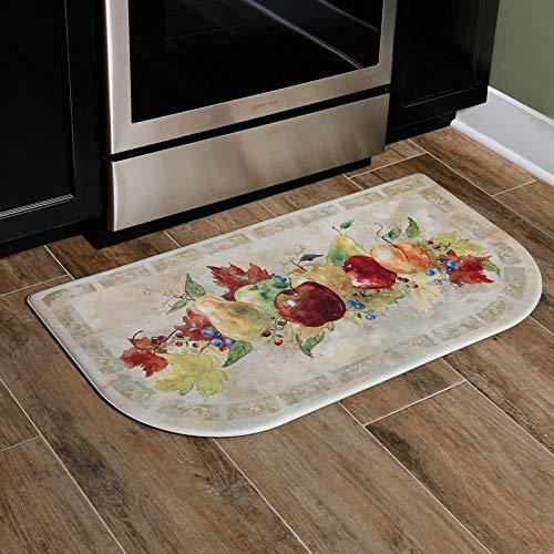 Home Dynamix Cook N Comfort Napa Fruit Slice Kitchen Mat-CNC81, 19.6