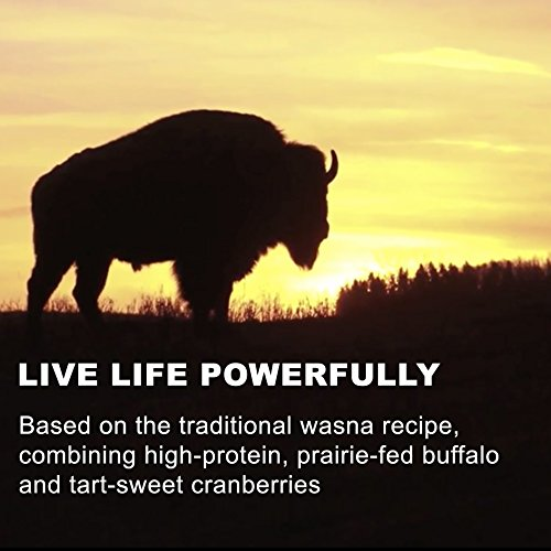Large Product Image of Meat Bars made with Buffalo and Cranberries by Tanka, Slow Smoked Original, Beef Jerky Alternative, Gluten Free Snacks, Paleo, (Pack of 12)