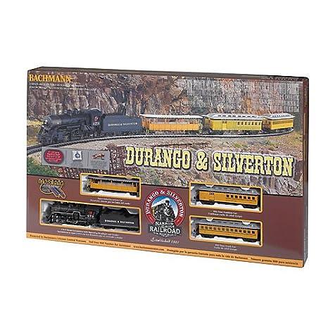bachmann durango and silverton ho scale ready to run electric train set