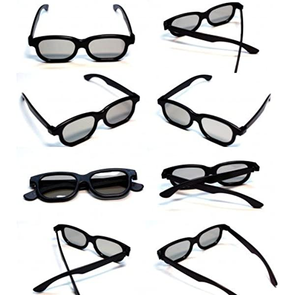 Rheme - Gafas 3D pasivas para televisores LG, Panasonic y Sony (10 unidades), color negro: Amazon.es: Electrónica