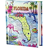 Florida Map Photo Album w/Color 100 Photos / 4x6