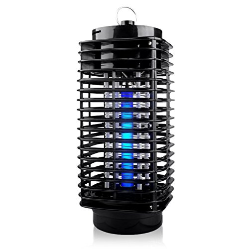Flantor Electric Bug Zapper with UV Light Trap, 110V indoor Fly Killer, Insect Killer, Mosquito Killer for Home, Garden, Kitchen by Flantor