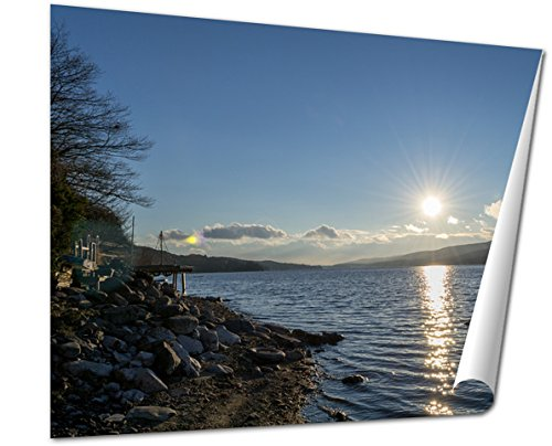 Ashley Giclee Fine Art Print, Sunset By Greenwood Lake Ny, 16x20, ()