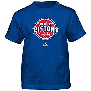 NBA by Outerstuff Boys Full Primary Logo Short Sleeve Tee R 6PAF9R, Boys, Full Primary Logo Short Sleeve Tee, R 6PAF9R, Blue, Kids Small(4)