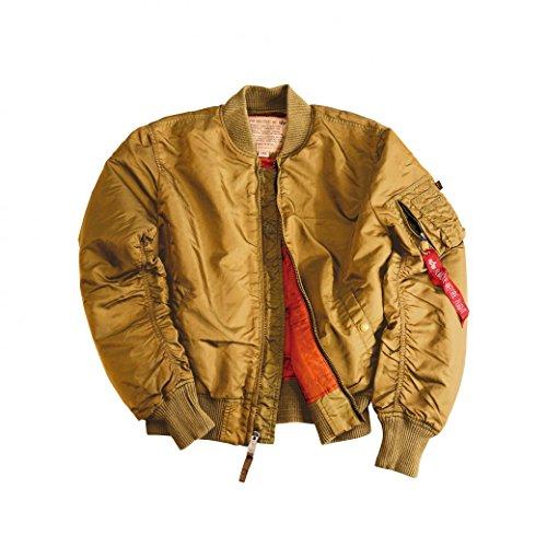 Homme 07 191118 Alpha Gold Bomber ntwxR0Yzq