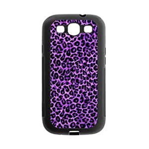 Danny Store Fashion Purple Leopard Protective TPU Gel Rubber Back Fits Cover Case for SamSung Galaxy S3