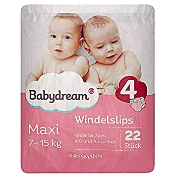 Babydream Windeln Maxi Plus Jumbo-Pack 72 Stück 9-20 kg 4