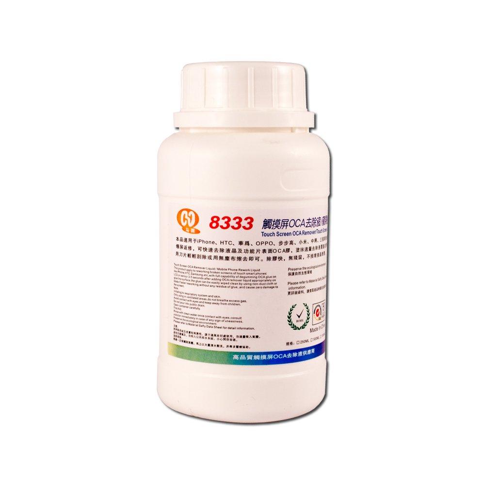 #8333 250ml Touch Screen Digitizer OCA Liquid Repellent Solution Group Vertical TOL705