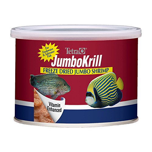 51%2BYe5vWeXL - Tetra JumboKrill Freeze Dired Jumbo Shrimp, Vitamin Enhanced