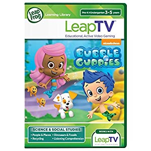 LeapFrog LeapTV Nickelodeon Bubble Guppies Educational, Active Video Game