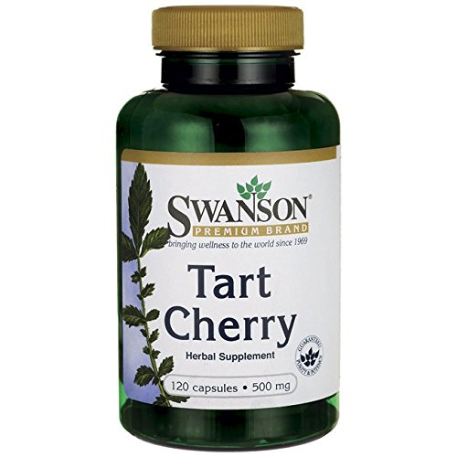 Swanson Tart Cherry 500 Milligrams 120 Capsules - 500 Mg Cherry