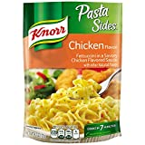Treat your taste buds with Knorr Pasta Sides Chicken Pasta (4.3oz). Our pasta side dish expertly combines red bell peppers, onion, garlic and parsley with a savory chicken-flavored sauce. Our deliciously seasoned Pasta Sides are great as part...