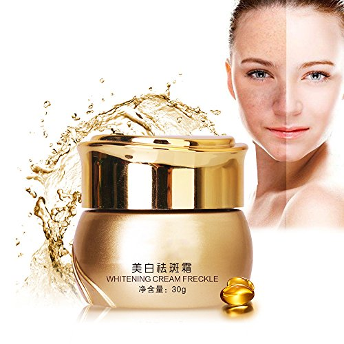 INST Best Facial Skin Whitening Cream, Dark Spots Stain Freckle Removal Repair & Natural Skin Whitening Fade Cream, Blemish Removal Serum Reduces Age Spots, Freckles, Melasma & Hyperpigmentation