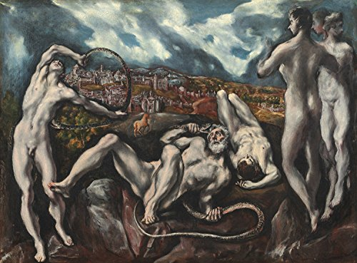PAINTING THEOTOKOPOULOS (EL GRECO) LAOCOON LARGE POSTER WALL ART PRINT (Greco Painting)