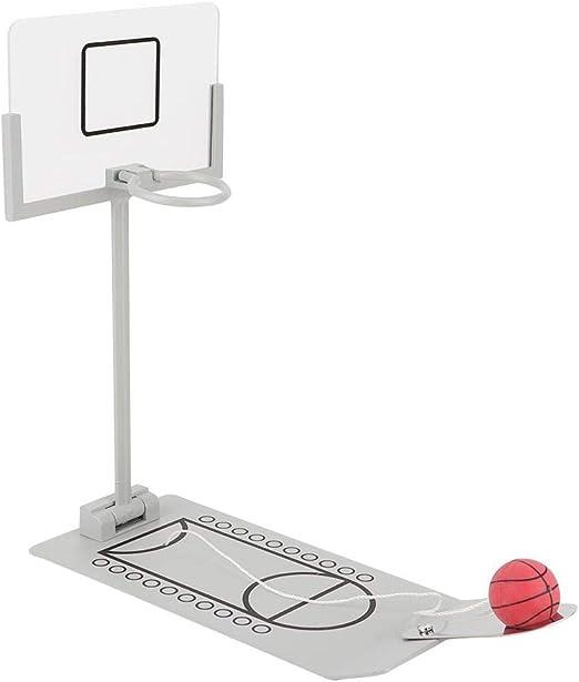 Fditt Mni Baloncesto Juego de Escritorio Baloncesto Interior Aro Juguete Mesa Baloncesto GOL Juegos con Pelotas para fanáticos del Deporte y fanáticos: Amazon.es: Hogar