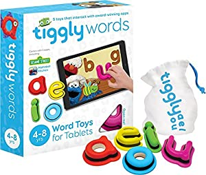 Interactive Learning Toys   Includes 4 Reading and Spelling Games  Great for Kids Ages 3 thru 8   Featuring Elmo and Cookie Monster in Sesame Street Alphabet Kitchen