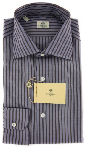 Luigi Borrelli New Blue Shirt 15.5/39