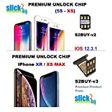 S2BUY Premium CHIP AUTO v12.3.x Compatible with iPhone XR/XS MAX, Unlock Any CDMA/GSM iPhones to Any GSM Networks. DO NOT Support CDMA SIM Cards (XR/XS MAX)