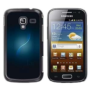 // PHONE CASE GIFT // Duro Estuche protector PC Cáscara Plástico Carcasa Funda Hard Protective Case for Samsung Galaxy Ace 2 / BLUE SWIL /