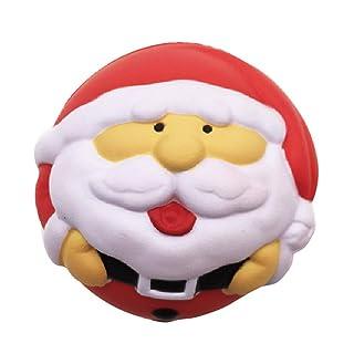 Giocattolo di decompressione Stress Reliever per Adulti Morbido Profumato a Lento Aumento(1pc, Babbo Natale) Rocita
