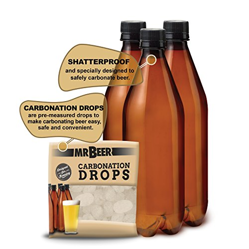 Mr. Beer Premium Gold Edition 2 Gallon Homebrewing Craft Beer Making Kit with Two Beer Refills, Convenient Fermenter and Bottles Designed for Simple and Efficient Homebrewing by Mr. Beer (Image #2)