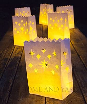 Tea Lights with Luminaries