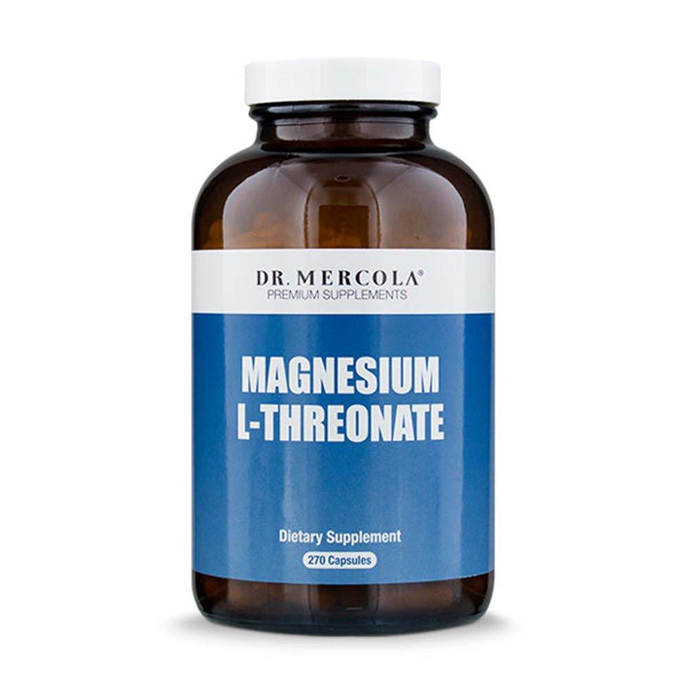 Dr. Mercola Magnesium L Threonate - 270 Capsules