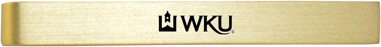 Western Kentucky University-Brushed Metal Tie Clip-Gold
