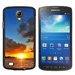 """For Samsung Galaxy S4 Active i9295 , S-type Puesta de sol Mar Beautiful Nature 12"""" - Arte & diseño plástico duro Fundas Cover Cubre Hard Case Cover"""