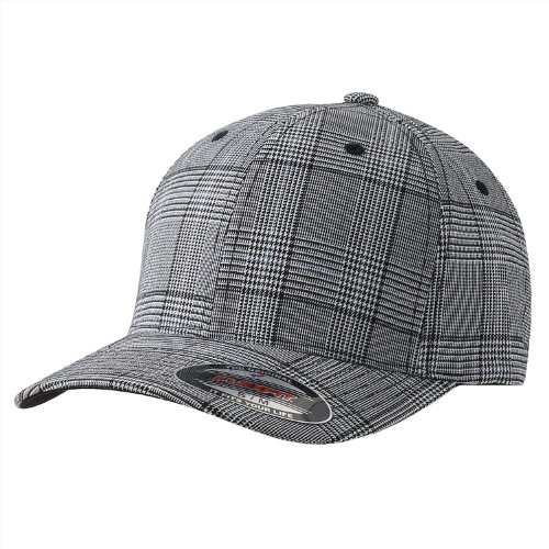 - Flexfit Men's Flexfit 6196 Plaid Baseball Cap