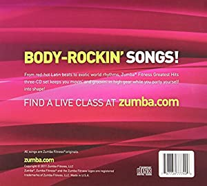 Zumba Fitness Greatest Hits CD (Music Collection)