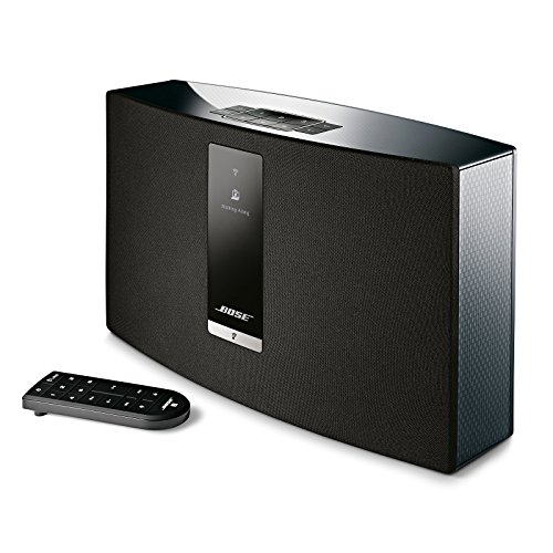 Bose SoundTouch 20 wireless speaker, works with Alexa, Black (Home Speaker Boss System)
