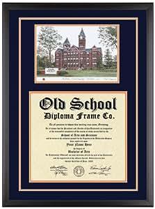 Amazon Com Auburn University Diploma Frame With Artwork