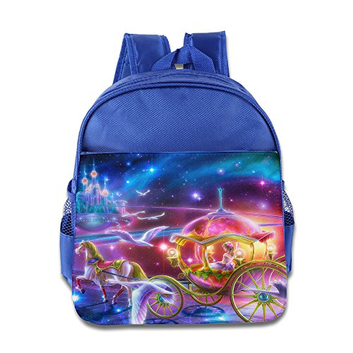 Price comparison product image Cinderella And Pumpkin Kids School Backpack Bag