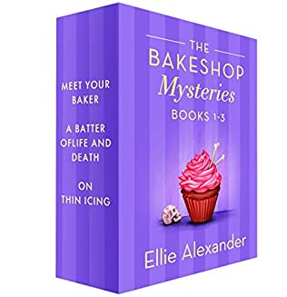 book cover of Bakeshop Mysteries Books 1-3