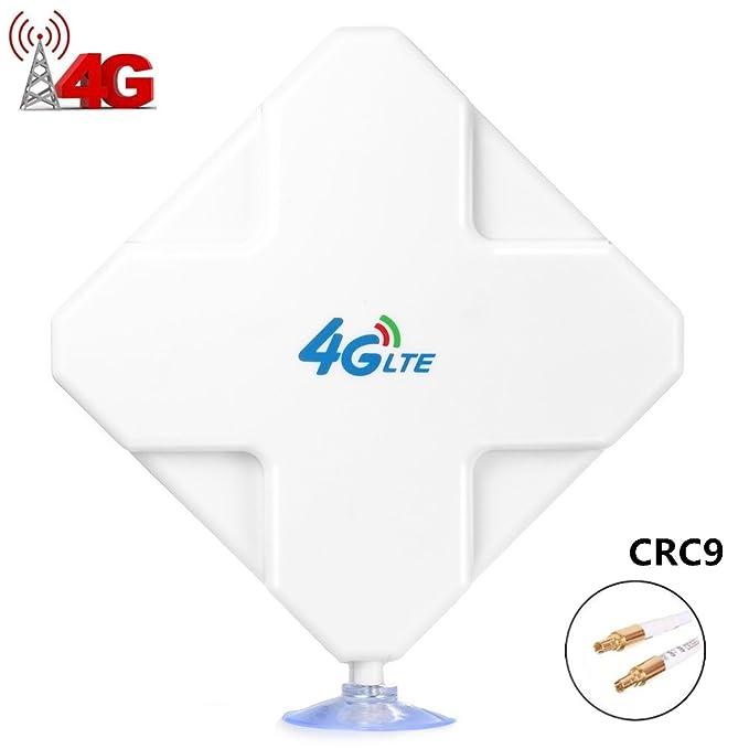 41 opinioni per CRC9 4G LTE Antenna 35DBI alte Prestazioni. Amplifica il Segnale Ethernet con