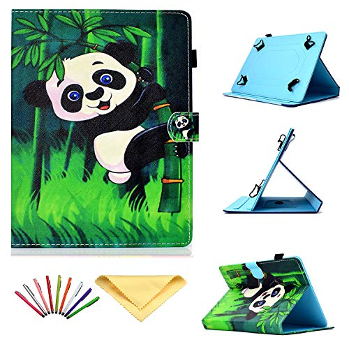 Uliking Universal Case for 7 inch Tablets, Folio Stand TPU Cover with Pencil Card Holder for 6.8